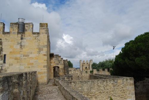 Autour de la forteresse de Lisbonne (photos)