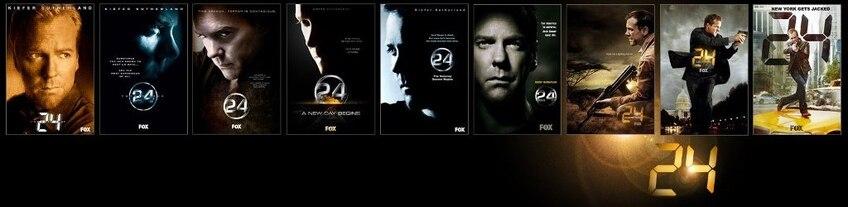 24 (24 heures chrono) la série TV