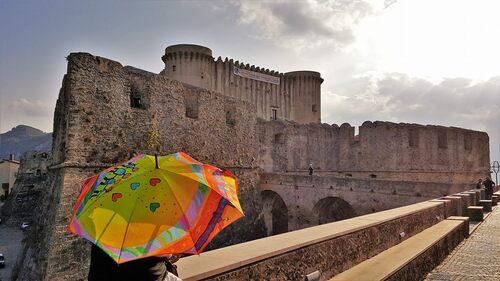 Parapluie à Santa Severina