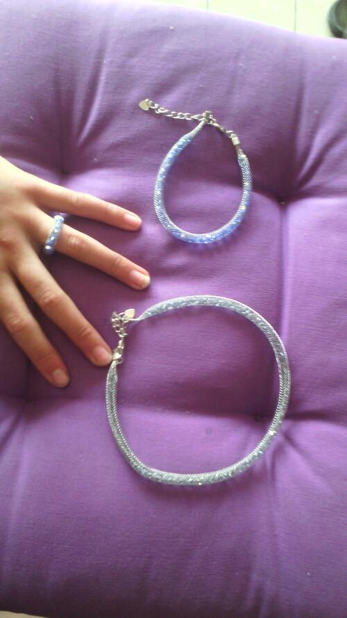 Bracelets Swarovski fait main