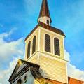 Saint-Anne - L'église Saint-Anne - Photo : Edgar