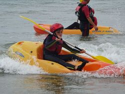Activités nautiques pour les élèves de CM