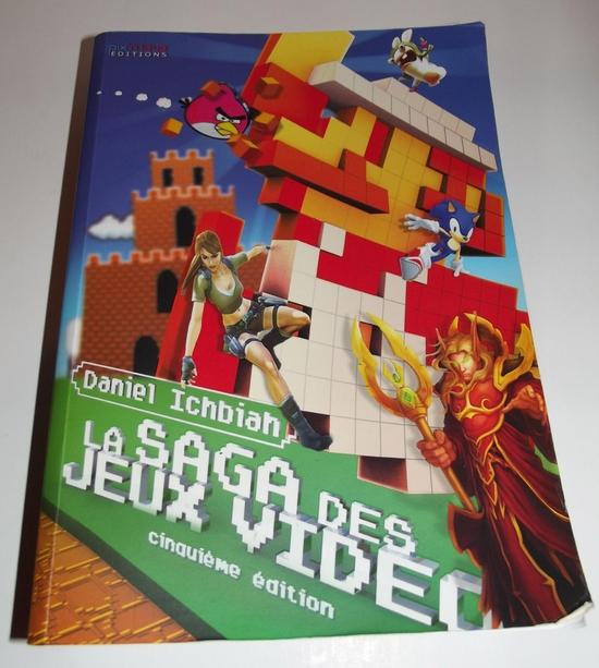 Livre La saga des jeux video