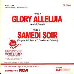 GLORY ALLELUIA