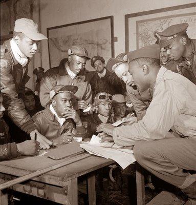 1945 - Aviateurs afro américains  de Tuskegee