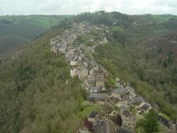 Les gorges du Tarn et de l'Aveyron en camping car avril 2009