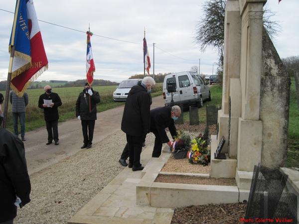 Le MaquisTabou a été honoré à Pothières