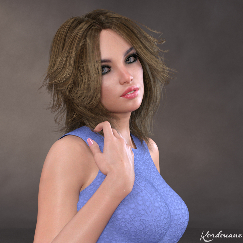 Portrait de Tilly (Daz Studio)