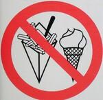 speiseeis und fritten verboten