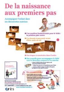 L'affiche de la naissance aux premiers pas