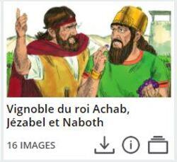 Achab et la vigne de Naboth