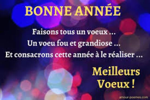 Textes voeux Nouvel An les plus beaux - Beaux souhaits Bonne année