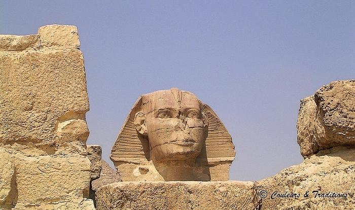 Le Sphinx de Giseh
