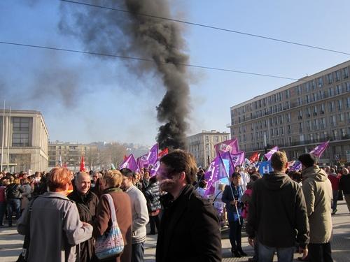 9 avril : 5000 au Havre dans la rue