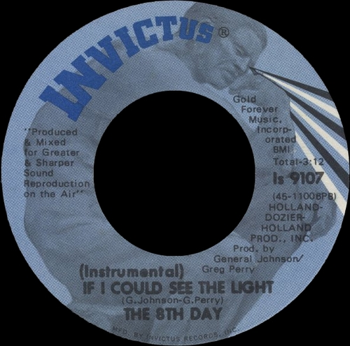 "The 8th Day "" 8th Day "" Invictus ‎Records ST-7306 [ US ] en 1971"
