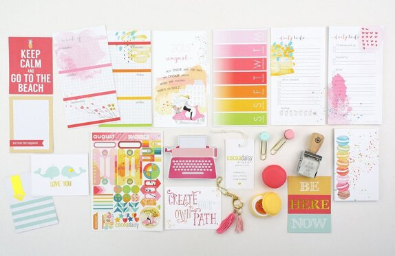August 2015 Personal Day Planner KIT