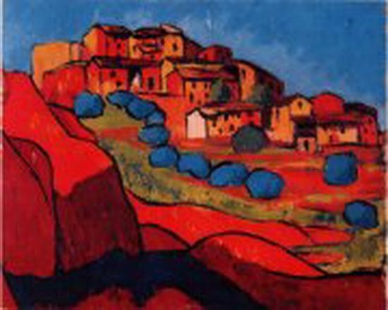 Pierre Girieud, Paysage de Roussillon