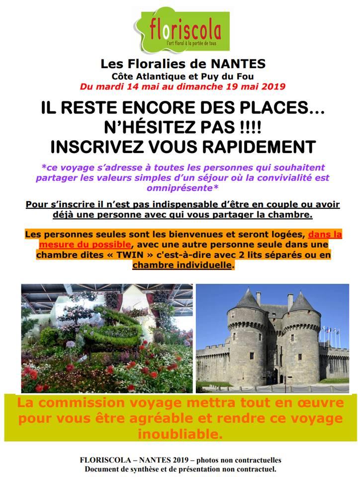 Voyage à Nantes en mai 2019