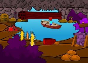 Jouer à Boat cave escape