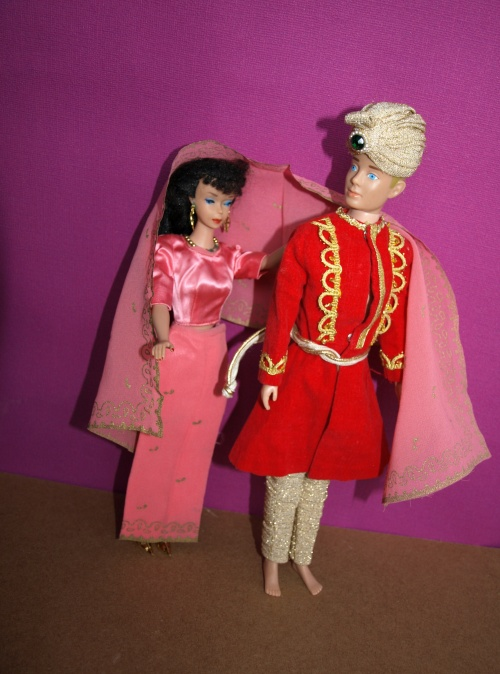 Barbie vintage : Barbie et Ken Arabian Nights