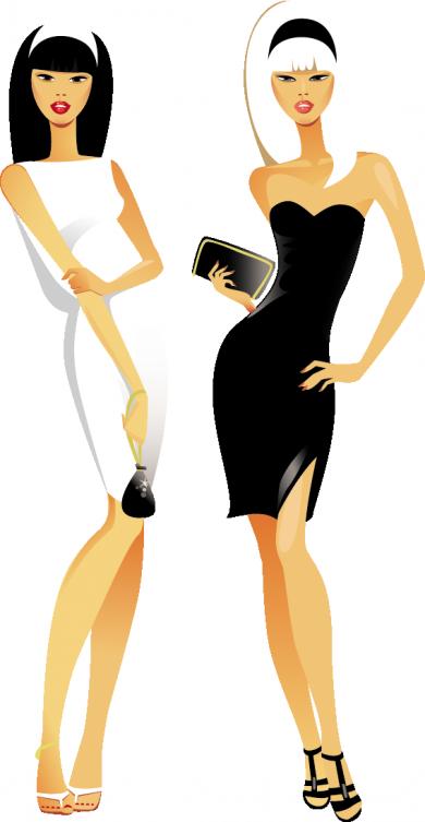 Tubes femmes fashion - 2
