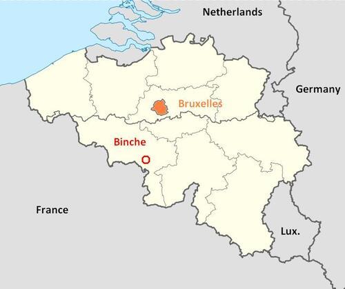 **  BIENTÔT  LE CARNAVAL DE BINCHE en BELGIQUE**