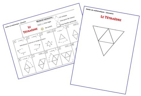 Le tétraèdre