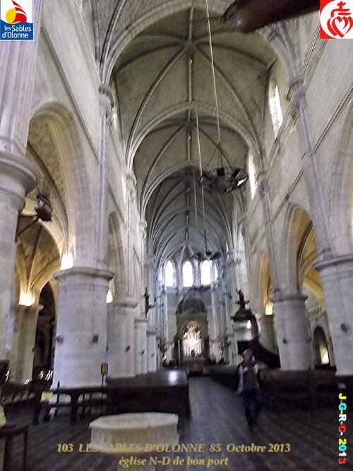 EGLISE 1/2 Notre Dame de BON PORT LES SABLES D'OLONNE  85   08/01/2014