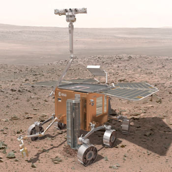 un robot visitera mars d'ici la fin de la décennie.