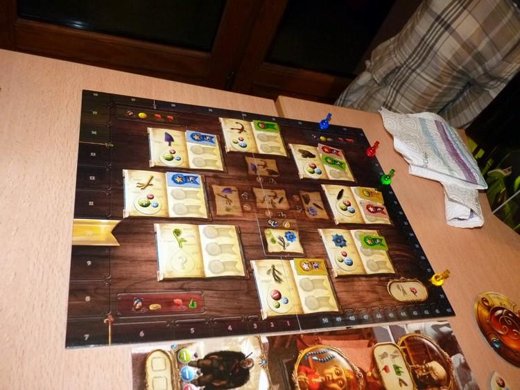 Alchimistes (tableau et scores)