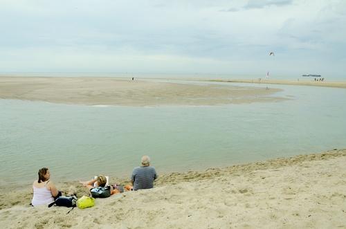 La côte belge, comme ça...