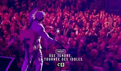 18 février 2017 / B.A. Tournée Age tendre sur C8