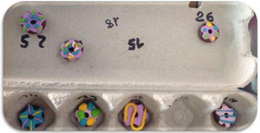 Le cadeau de la fête des mères : la bague donuts en Fimo
