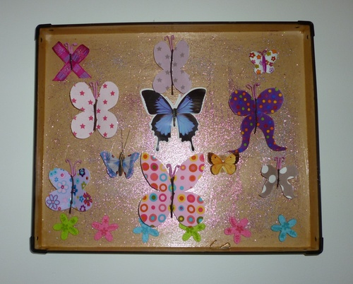 Tableau des papillons Tuto
