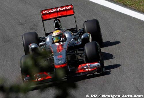GP Brésil - Qualifications : Hamilton 4° Button 3°