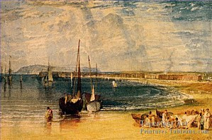 6-Weymouth-Dorsetshire-Romantique-Paysage-Joseph-Mallord-Wi