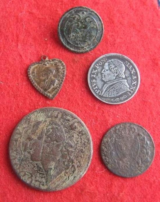 Sortie detection du 23 janvier 2016 monnaies et médaille