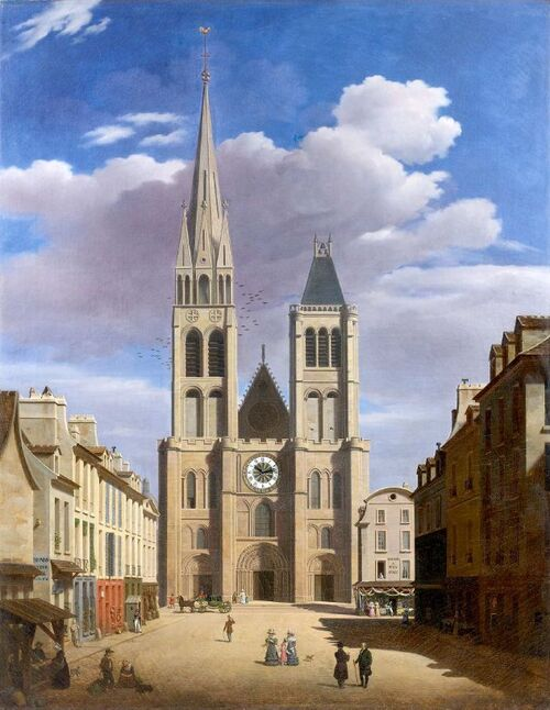 A Saint-Denis : Suivez la flèche !