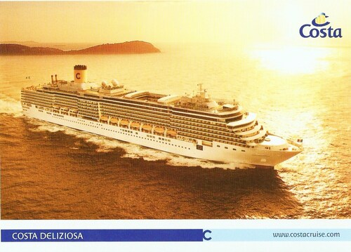 D-27 BEFORE THE COSTA WORLD CRUISE...