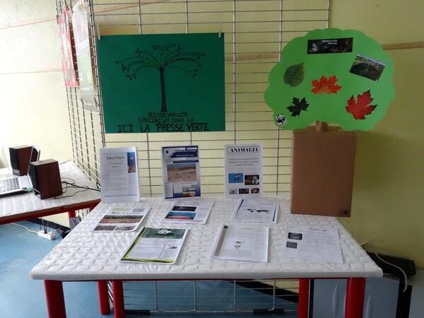 Au Lycée Désiré Nisard, les élèves et leurs professeurs ont présenté une très intéressante exposition sur la biodiversité