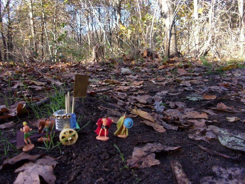 Aujourd'hui : Les mini-gens ont besoin d'explorer la nature trop vaste qui les entoure