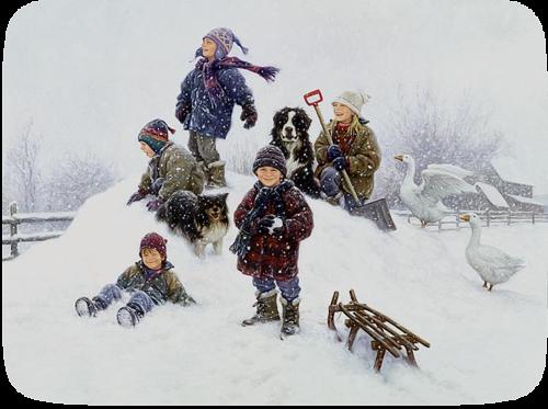 Tubes, femmes, enfants, hommes, paysages, clusters, couples, cadres, scraps, animaux, hiver,