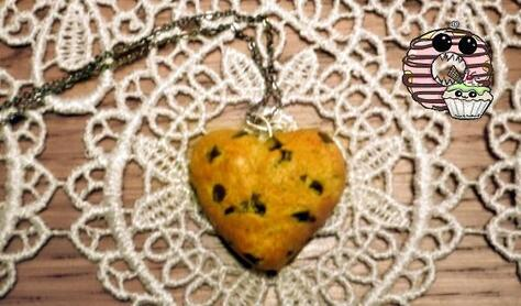 Collier Cookie Cœur