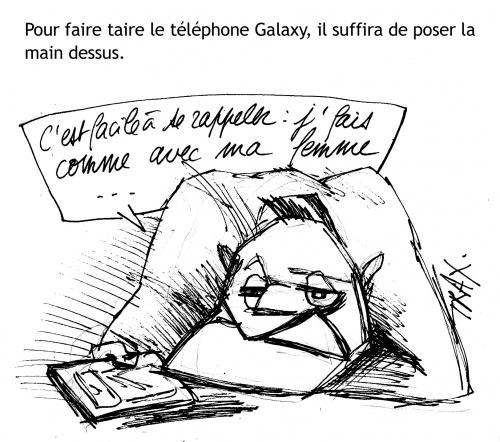 Galaxy S III violences conjugales