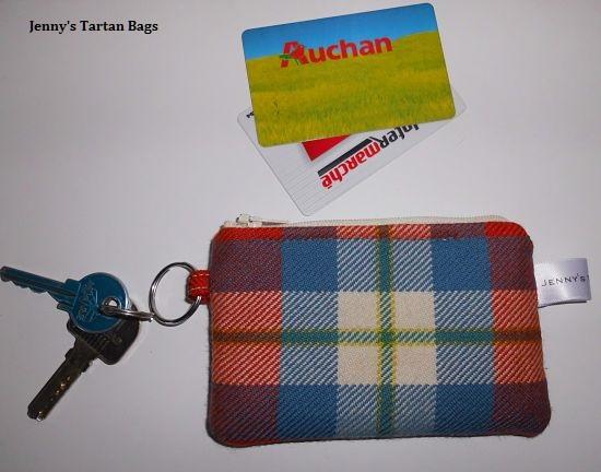 Offre spéciale pochettes porte-clés en tartan
