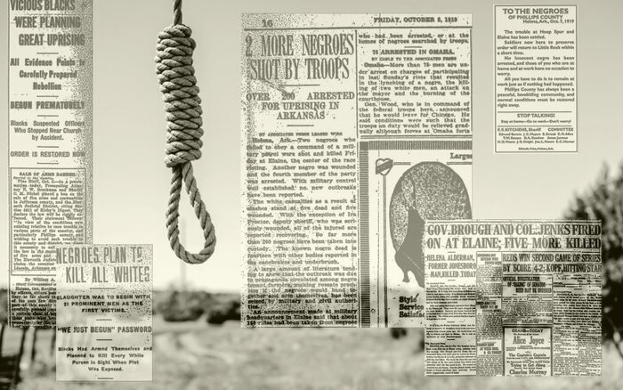 (Histoire) 1919 : massacre raciste... et anti-syndical dans l'Arkansas