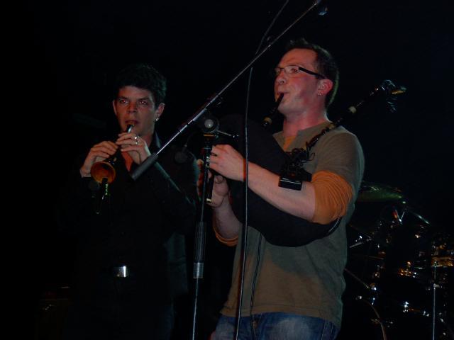 Samedi 15 mars 2008, la Saint Patrick à la Traverse de Cléon