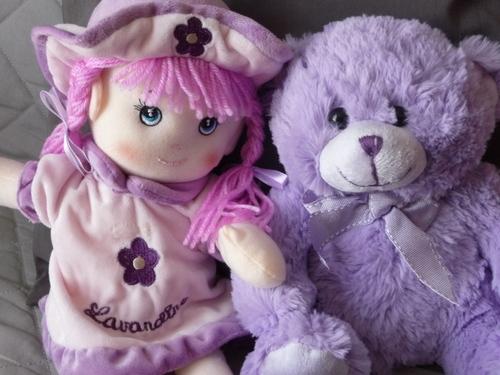 Lavandine et Violette