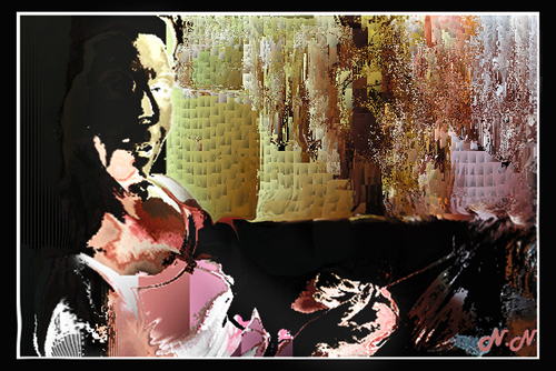 mes peintures numériques : du figuratif à l'abstrait