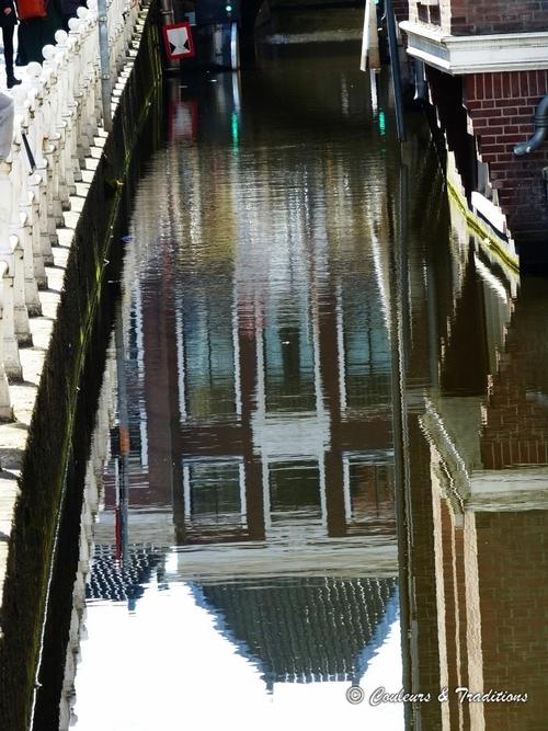 Delft, le long des canaux